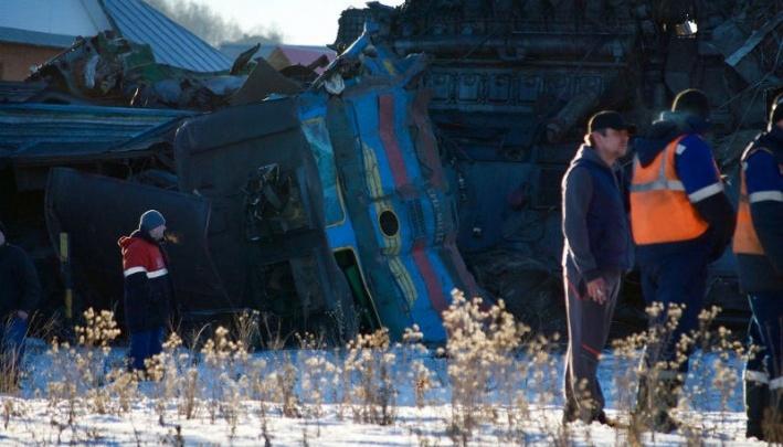В Башкирии осудили виновных в крушении двух поездов