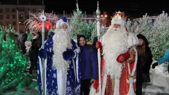 В Самаре побывал Дед Мороз из Великого Устюга