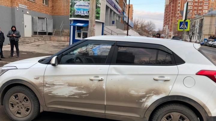 В Самаре водитель Hyundai сбил ребенка