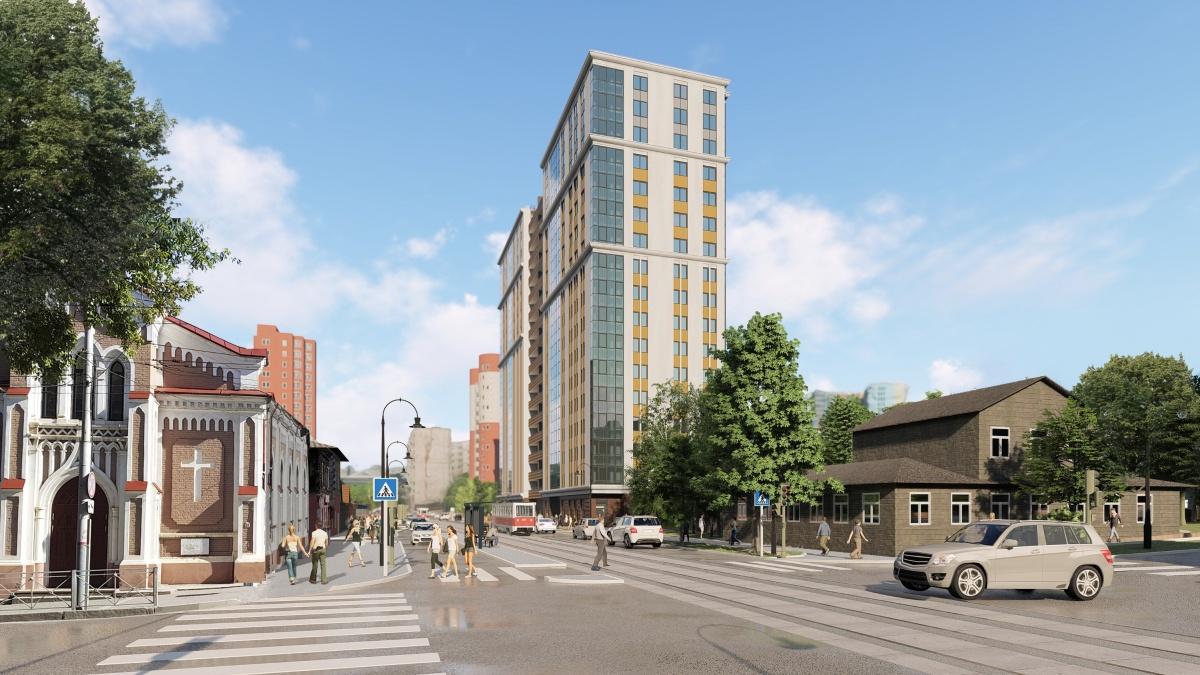 Стартуют продажи квартир в новом жилом доме в самом центре Перми