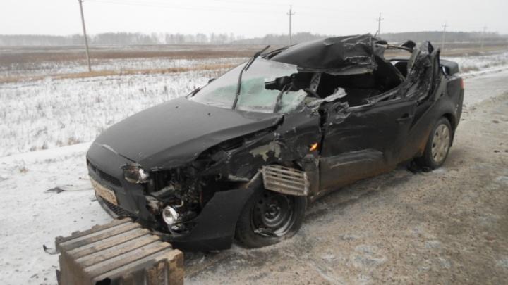 В Оренбургской области разбился житель Башкирии