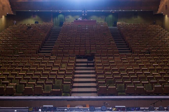 Новый зал имировая премьера Музыкального театра