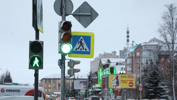 На Троицком проспекте закрыли ещё один пешеходный переход