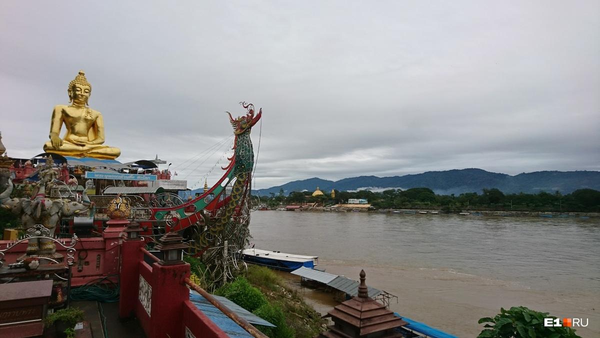 Река Меконг. Расскажите вьетнамцам и камбоджийцам, какая у нас мутная Исеть