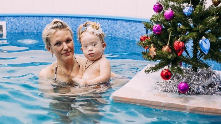 Стихия здоровья: центры AquaBABY приглашают особенных малышей на бесплатные занятия в бассейне