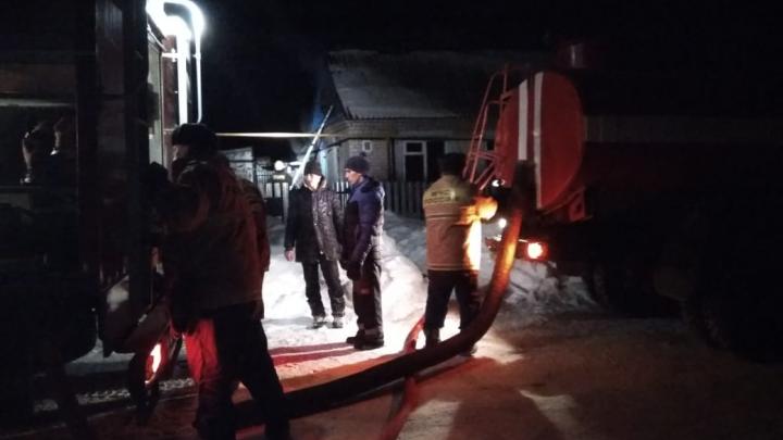 В Башкирии в пожаре погибла 69-летняя женщина