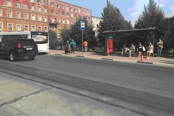 Инцидент произошел возле сквера Высоцкого