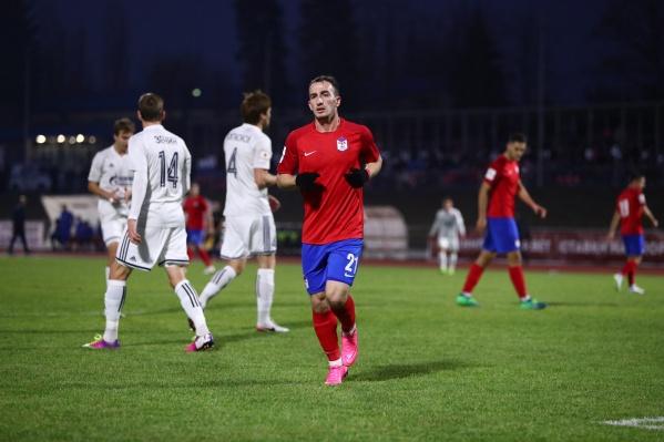 Гол в ворота «Волгаря» забил Ахриев