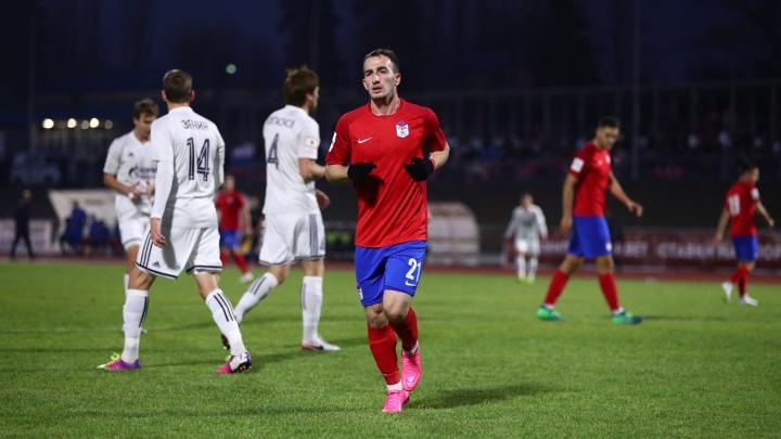 Футбольная команда Басты проиграла астраханскому «Волгарю»