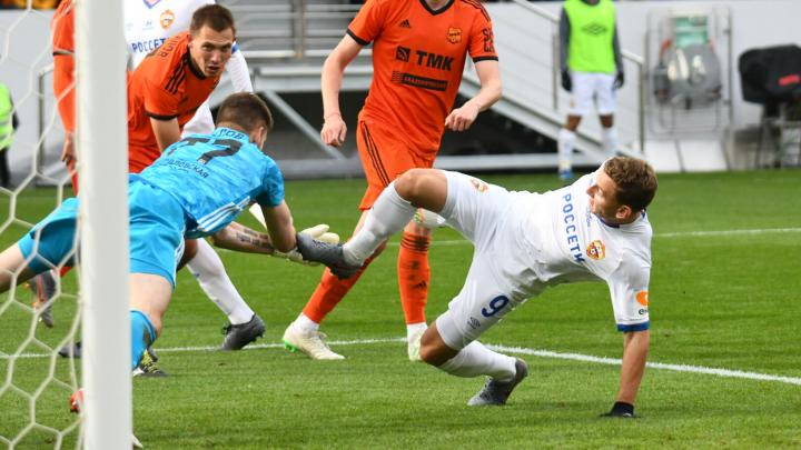 Традиционное поражение: ЦСКА разгромил «Урал» в Екатеринбурге
