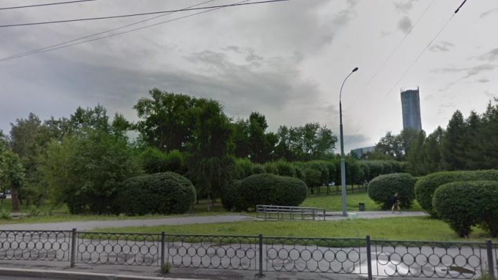В сквере у ДИВСа к середине августа построят скейт-площадку