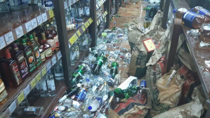 Южноуралец разгромил алкомаркет «Красное&Белое» на полмиллиона рублей