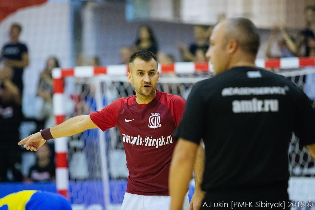 Новосибирские футболисты обыграли одного из лидеров Суперлиги