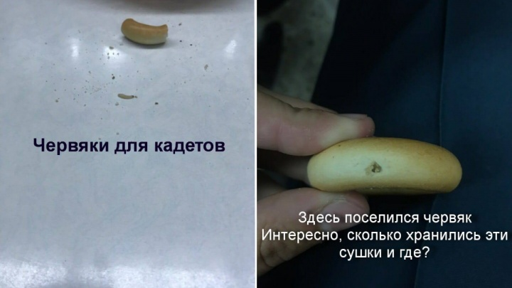После сушек с червями в питании кадетов в Железногорске нашли ещё нарушения