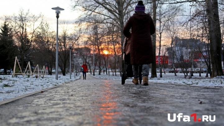 На старый Новый год в Башкирии похолодает до –34 градусов
