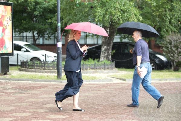 Пятница будет дождливой