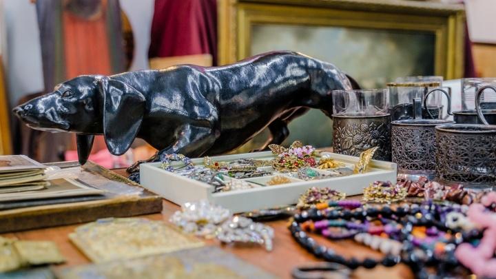 От царских монет и патефонов до ковра для фотографий: что посмотреть на «Антикварном салоне» в Перми