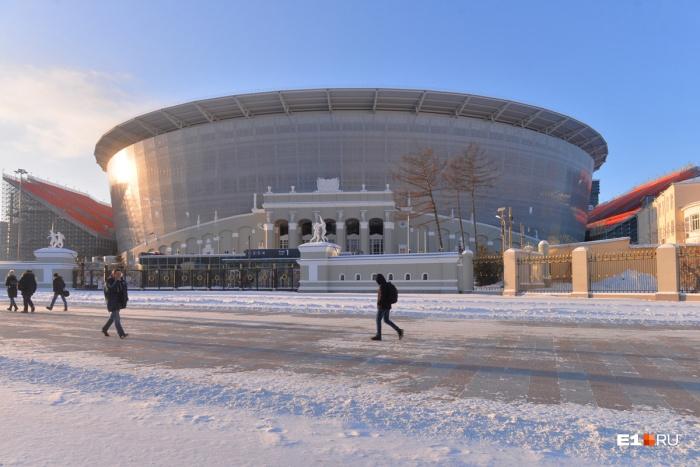 Жителям 52 домов в районе Центрального стадиона придётся получить аккредитацию