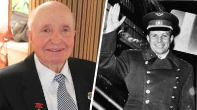 «Вручили букетик подснежников»: омич рассказал о встрече с Гагариным сразу после его приземления