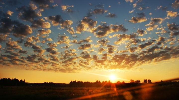 Прогноз погоды. В Нижнем Новгороде будет облачно, сухо и холодно