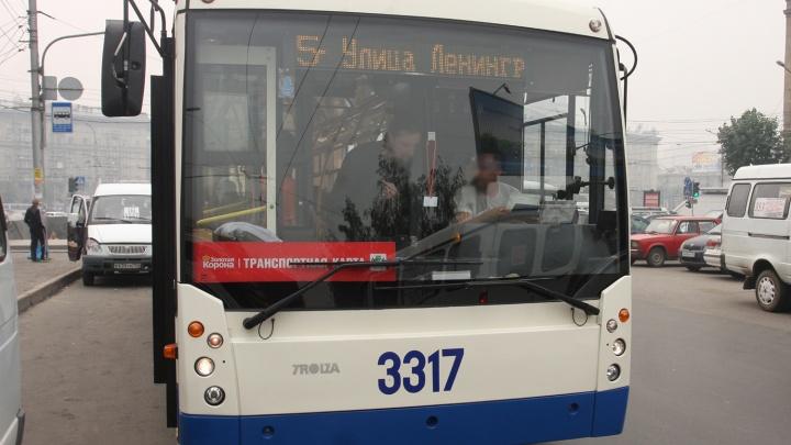 Один на больничном, двое сбежали: «Горэлектротранспорт» ищет подравшихся в троллейбусе №5 работников