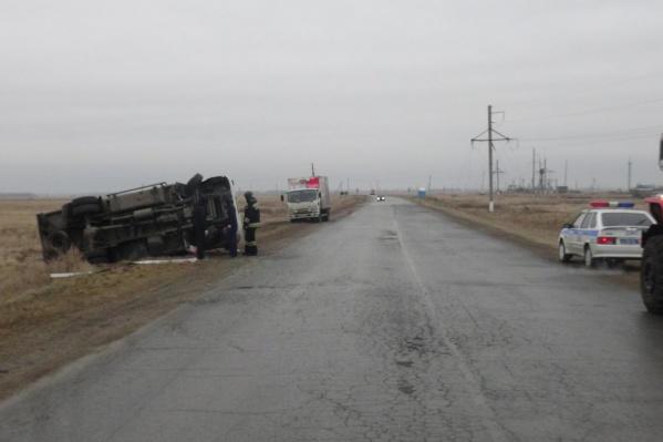 Авария произошла на автодорогеШадринск — Ялуторовск
