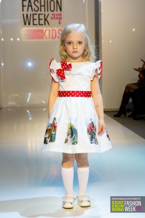 Невозможно не умилиться: дети-модели закрыли показ Недели моды в Екатеринбурге