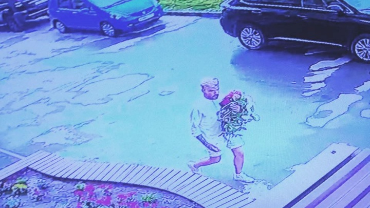 Поймать Флориста: новосибирец попал в объектив камеры во время кражи роз с клумбы (обновлено)