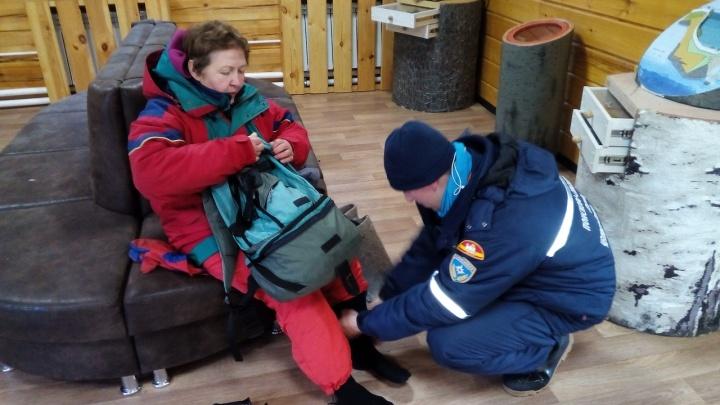 Ночь провела в сугробе. В горах Таганая спасли 65-летнюю альпинистку из Перми