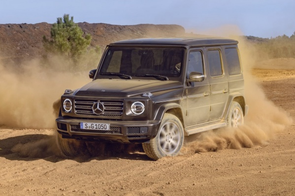 Mercedes Gelandewagen сменил поколение
