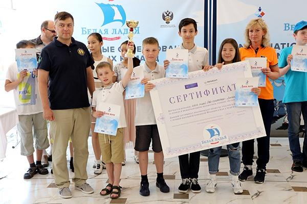 Школьники из Екатеринбурга завоевали серебро на легендарном шахматном турнире