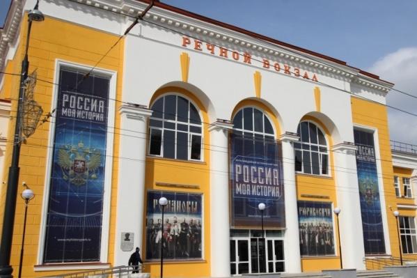 Выставка на Речном вокзале работает с декабря 2017 года
