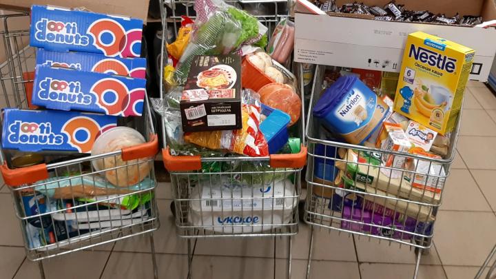 Три тележки просрочки: в Ярославле нашли супермаркет с большим количеством испорченных продуктов