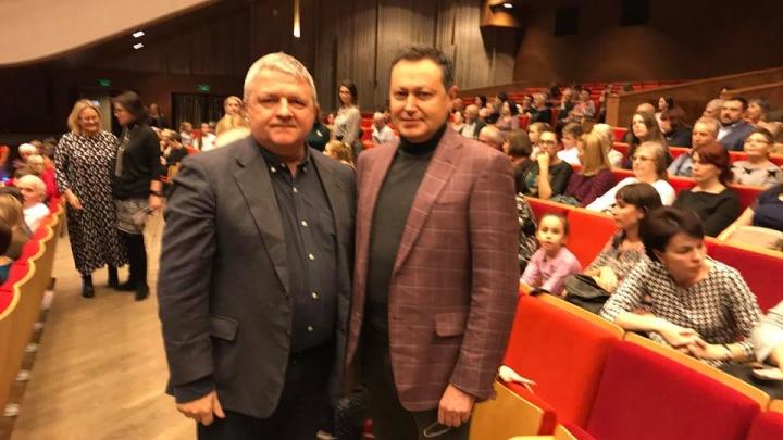 Бывший мэр Красноярска впервые вышел в свет после отказа от власти