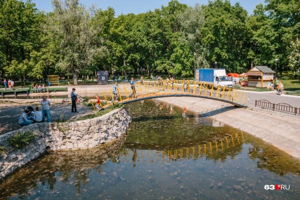 Один из объектов, где установят оборудование, — парк Гагарина