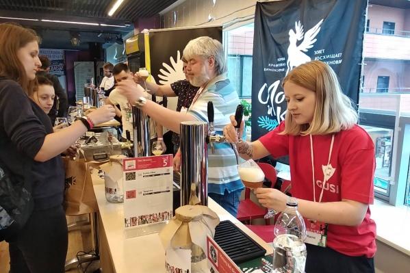 На фестиваль привезли 222 марки пива и сидра
