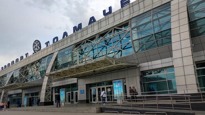 В аэропорту Толмачёво объявили эвакуацию