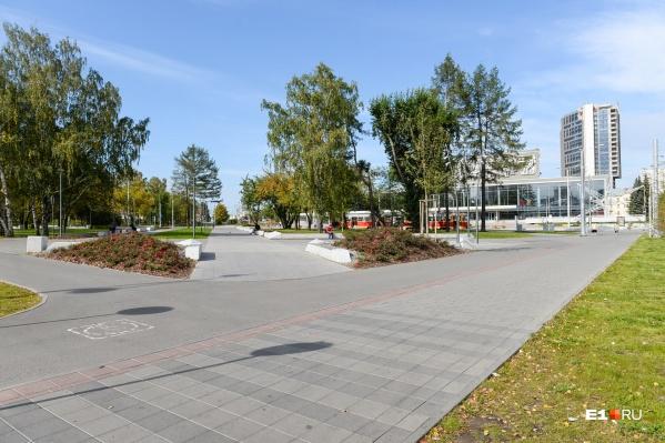Частично парк обустроили перед ЧМ-2018