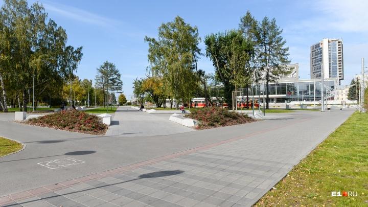 В парке возле Дворца молодёжи на центральной аллее появится фонтан как у «Пассажа»