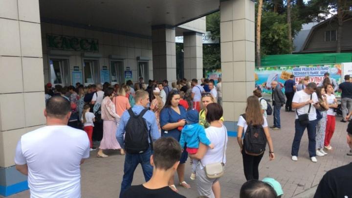Пришли на день рождения: сотни новосибирцев выстроились к кассам зоопарка