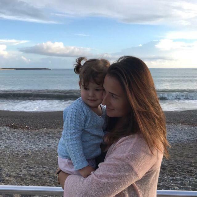 Дарья провела в Италии три с половиной года и уехала, когда ее дочери Софии было два года