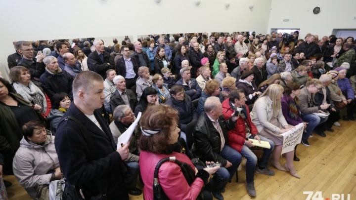 «Нам не нужна школа»: слушания по застройке «Белого хутора» закончились вызовом скорой