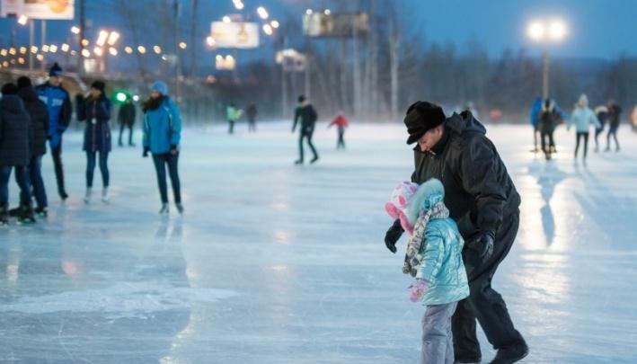 Названа дата открытия самого большого катка в Красноярске