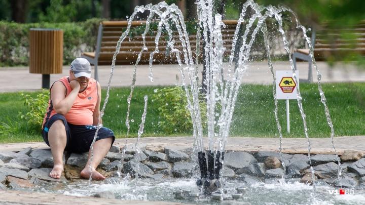 В Волгоградскую область вернётся 30-градусная жара