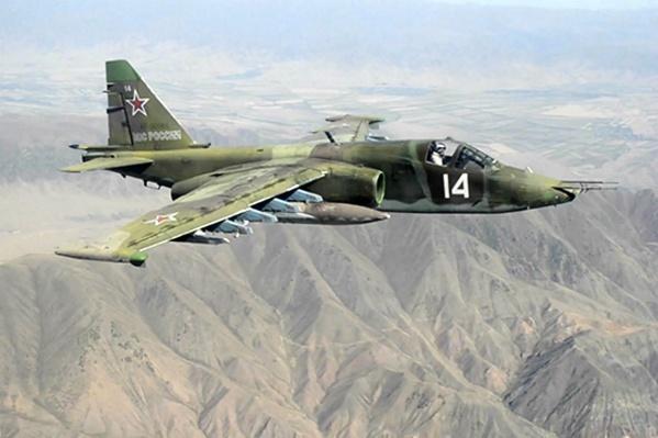 Су-25 в полёте