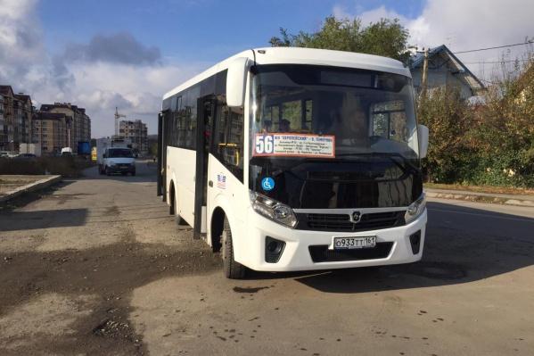 56-й автобус будет ходить по старой схеме
