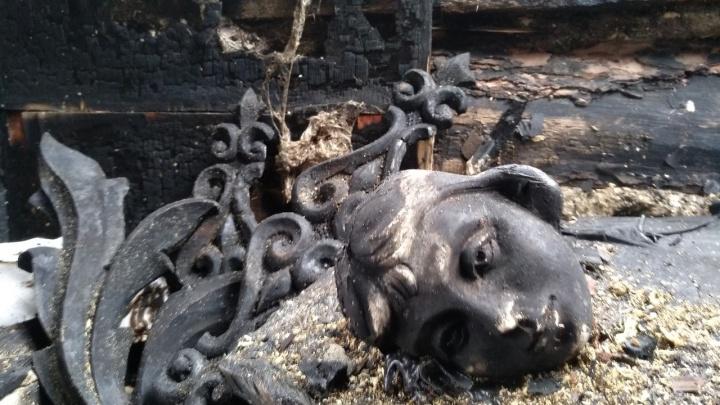 Сгоревший памятник архитектуры на Дзержинского — мастерскую Шитова — проверят прокуроры
