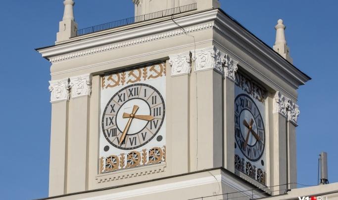 Часам на башне вокзала Волгоград-1 вернули голос