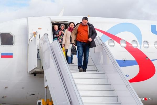Тюменцы ждут своего рейса в нашем аэропорту