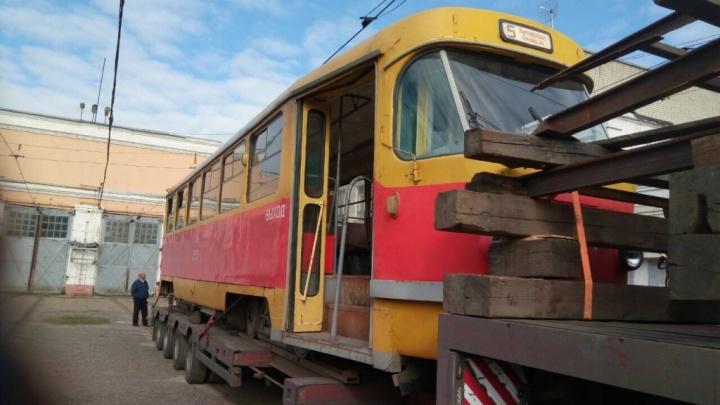 «Трамвай этот — лучший»: в Волгоград вернулся вагон-кинозвезда
